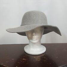 New Women's Floppy Hat Gray Boho Adjustable size