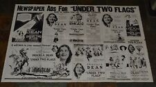 Under Two Flags vintage silent film 1922 movie pressbook theater promotional