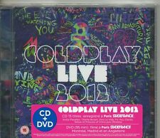CD 15T + DVD  COLDPLAY   LIVE 2012    NEUF SCELLE  ANNEE 2012