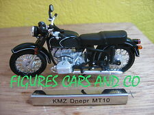 #18 MOTO  1/24 COLLECTION EUROPE DE L'EST KMZ DNEPR MT10 RUSSIE 1970
