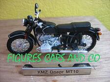 #18 MOTO  1/24 COLLECTION EUROPE DE L'EST KMZ DNEPR MT10 RUSSIE 1970