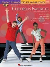 Children's Favorites Sheet Music Easy Piano Play-Along Book and CD 000311259