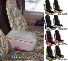 2005-2012 FORD RANGER 60/40 HIGH BACK CAR SEAT COVERS choose color