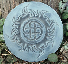 Fire plaque mold Gothic Pagan Wicca Celtic mould