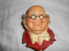 Bossons chalkware Mr Pickwick hand painted