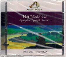 CD Arvo Pärt 'tabula rasa' Nuovo/Scatola Originale coro, Orgel, Streicher, arpa, pianoforte-RARE