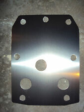 YAMAHA RHINO REAR SKID PLATE 2006 thru 2013 450 660 700 UTV ATV Guard WOW