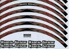 "17""Wheel Stripe / Tape / Rim Stickers Rascal theme design TRIBAL MANIAC RA36907"