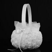 Wedding Flower Baskets Vintage Lace Bride Bridesmaid Wedding Bouquet Best UK