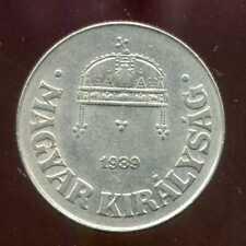 HONGRIE  HUNGARY  50 filler 1939  ( pas courant )
