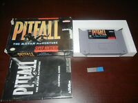 PITFALL THE MAYAN ADVENTURE SUPER NINTENDO COMPLETE