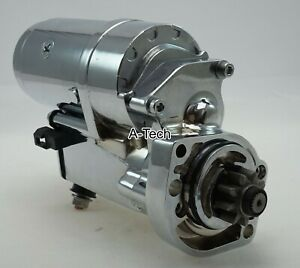 Fit BIG DOG MOTORCYCLES NEW 2.0kw STARTER SIDE DRIVE DSSC 05-up with Baker RSD