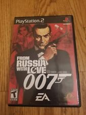 007 From Russia With Love PS2 Video Games CIB VGC