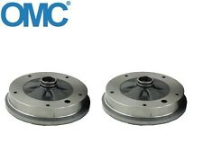 Volkswagen Beetle Karmann Ghia Thing Brake Drum Front Set of 2 OCM 131 405 615 A