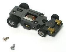 1pc 1976 Aurora AFX MAGNA-STEERING HO Slot Car Chassis UNUSED Screecher V.Quick!