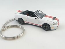 2011 Ford Shelby GT 500 Mustang White Key Chain KeyChain '11 Shelby GT500
