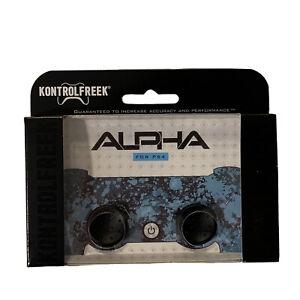 KontrolFreek Alpha Thumbsticks for PS4 PS5 New Black FPS Freek PlayStation Low