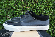 VANS 106 MOC CA SZ 12 BLACK OFF WHITE GREEN VN 0NJL5K2