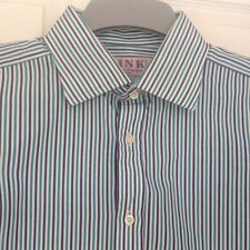 Thomas Pink Double Cuff Formal Shirts for Men's Striped Long