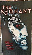The Remnant (VHS) Rare 2001 horror stars Rick Jordan