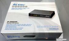 Airlive IP-2000VPN Internet VPN Router PPTP VPN Server, IPSec VPN Server, NEU