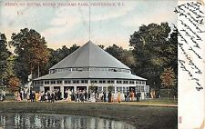1907 Merry Go Round Roger Williams Park Providence RI post card Amusement Park