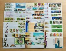 Malaysia Complete Yearly Set of 33 FDC issued in 2002 (a nice collection lot)