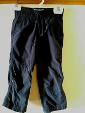 Boy's Old Navy Blue Adjustable Leg Drawstring Waist Lined Pants