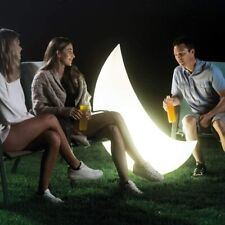 Intex Giant Moon Floating LED Light 6 Colours 135x43x89cm Perfect Garden Light