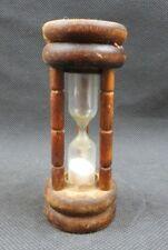 Vintage sand timer hour glass clock Mid Century deco