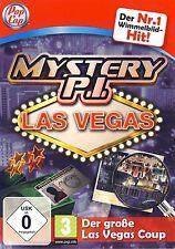 Mystery P i Las Vegas il grande Las Vegas Coup the Vegas Heist PER PC NUOVO OVP