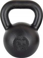 Kawmet Cast Iron Kettlebell 20 kg Black