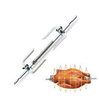 Toaster Ovens Accessories Turkey Chicken Roaster Spit Rotisserie Fork BBQ Grill