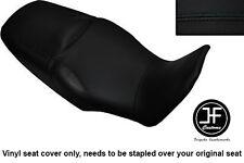 BLACK VINYL CUSTOM FOR HONDA XL 1000 V VARADERO 08-13 DUAL SEAT COVER ONLY