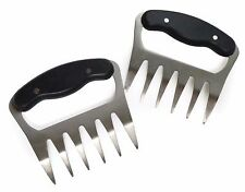 RSVP Meat Shredders Claws Stainless Steel BBQ Handling Carving SHRED