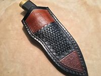Custom Leather Sheath for BUCK 692 Vanguard, 691, 191, 192