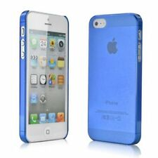 iPhone 5 5S / SE Ultra Slim Thin Case. Scratch Resistant Protective Cover - Blue