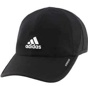 NEW! adidas Men's Adizero II AEROREADY Performance Cap-Black/White #5142844