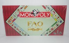 New Monopoly FAO Schwarz 150th Anniversary Edition Board Game Hasbro 2012 Sealed