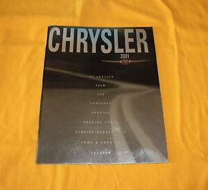 Chrysler 2001 USA Prospekt Brochure Catalogue Depliant Prospetto PT 300M Sebring