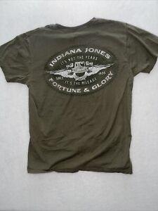 Indiana Jones T Shirt M Disney Graphic Tee
