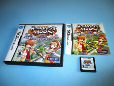 Harvest Moon DS: The Tale of Two Towns Nintendo DS Lite DSi XL w/Case & Manual