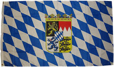 XXL Flagge Bayern Wappen  90 x 150 cm Freistaat Fahne Hissfahne Sturmflagge
