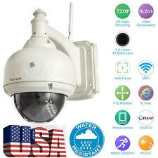 Wireless HD 720P CCTV Security Camera 2.8-12mm Auto-focus PTZ IP Camera Sricam