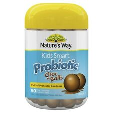 Nature's Way Kids Smart Probiotic 50 Milk Chocolate Balls 125g