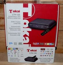 Tokai LTN 120 TV DVB-T Receiver SD HD TV Radio Tuner PVR USB MPEG FB Scart OSD