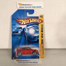 #2  Dodge Charger SRT8 #7 * Orange * 2007 Hot Wheels * Y23