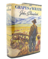 John Steinbeck THE GRAPES OF WRATH Stated First Edition 1st Edition 1st Printing