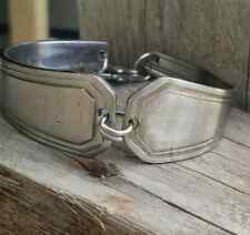 Handcrafted Silverplate Silverware Spoon Bracelet