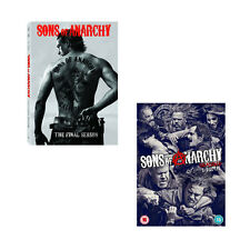SONS OF ANARCHY COMPLETE SEASON SERIES 6 + 7 DVD box set R4 New Sealed